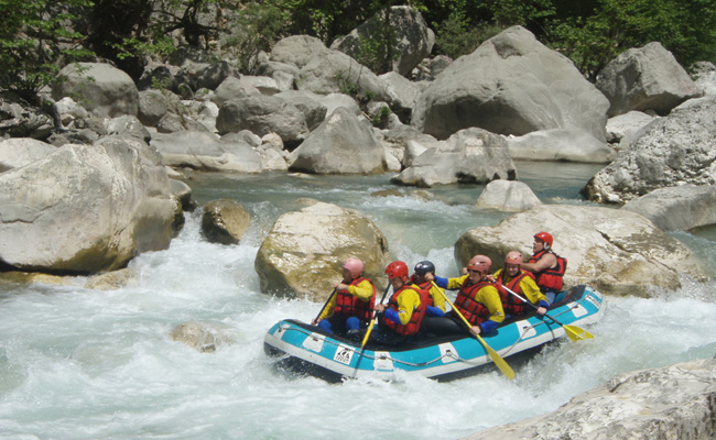 Rafting in Arachthos river
