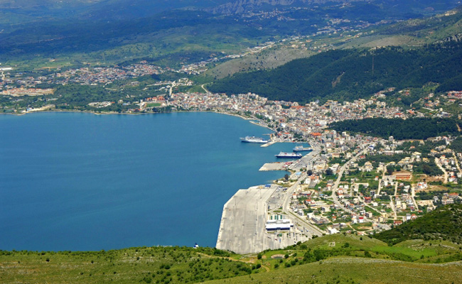 View of Igoumenitsa city